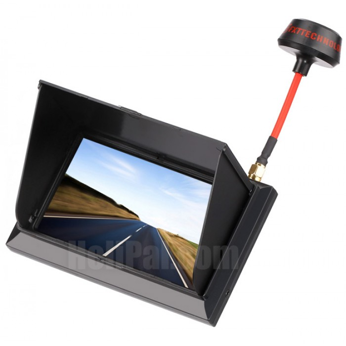 "FXT F408 4.3"" All-in-One FPV Monitor w/ Raceband (Black)"